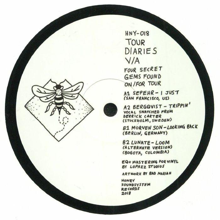 SEPEHR/BERGQVIST/MORVEN SON/LUNATE - Tour Diaries
