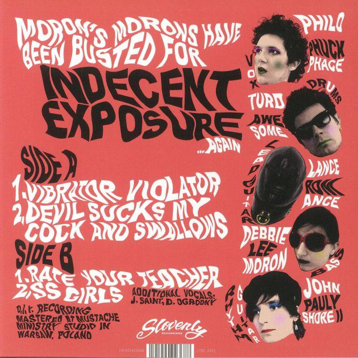 MORONS MORONS - Indecent Exposure