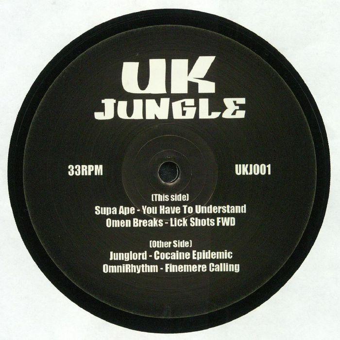 SUPA APE/OMEN BREAKS/JUNGLORD/OMNIRHYTHM UK Jungle