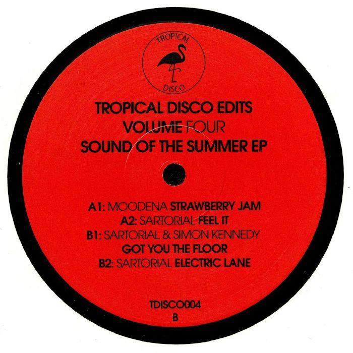 MOODENA/SARTORIAL/SIMON KENNEDY - Tropical Disco Edits Vol 4: Sound Of The Summer EP