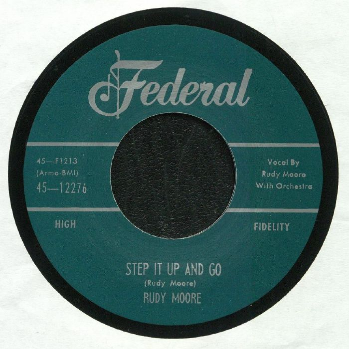 MOORE, Rudy - Step It Up & Go