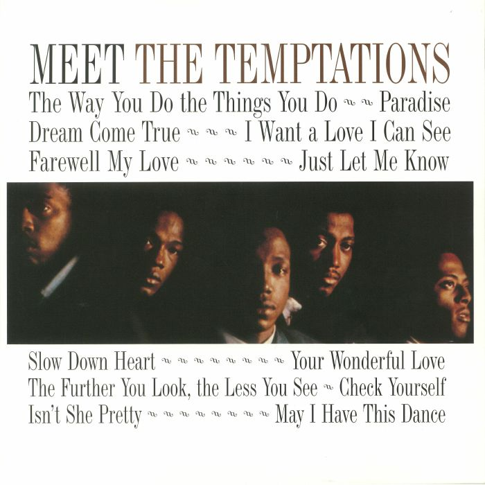 TEMPTATIONS, The - Meet The Temptations (reissue)