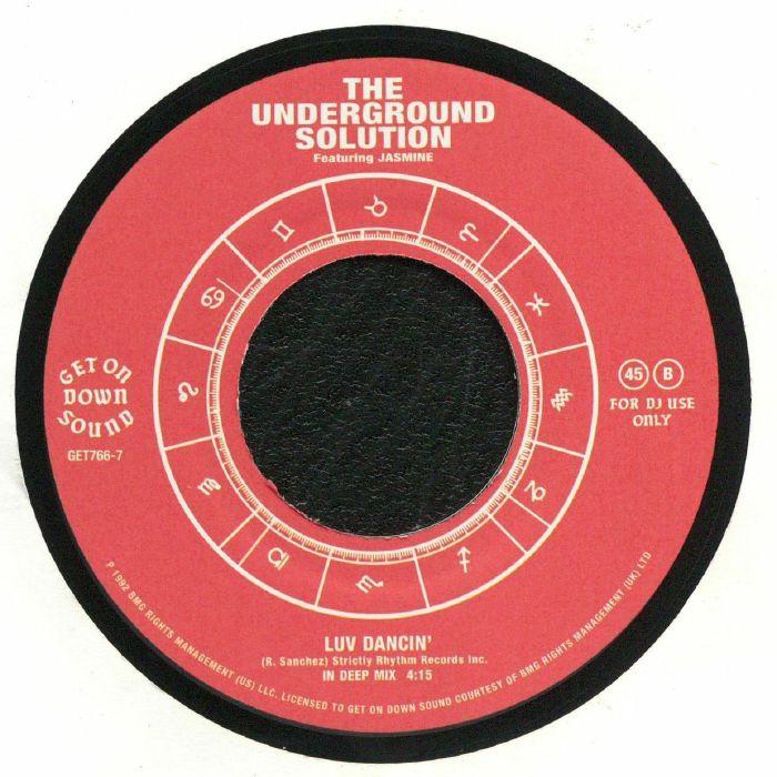 The Underground Solution Feat Jasmine Luv Dancin Vinyl At