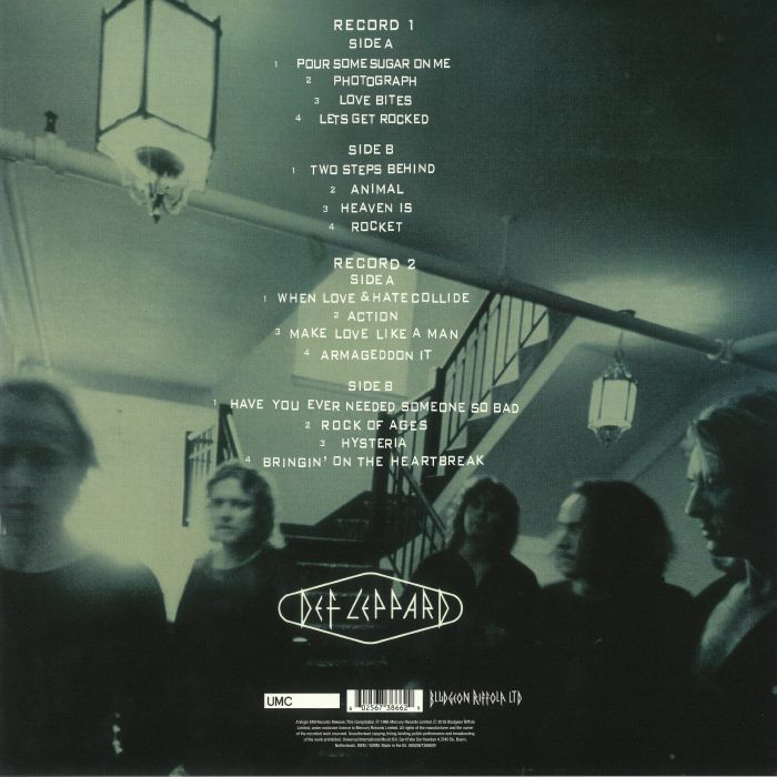 DEF LEPPARD Vault Greatest Hits 1980 1995 Vinyl At Juno Records