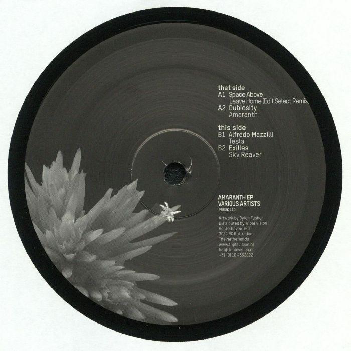 SPACE ABOVE/DUBIOSITY/ALFREDO MAZZILLI/EXILLES - Amaranth EP