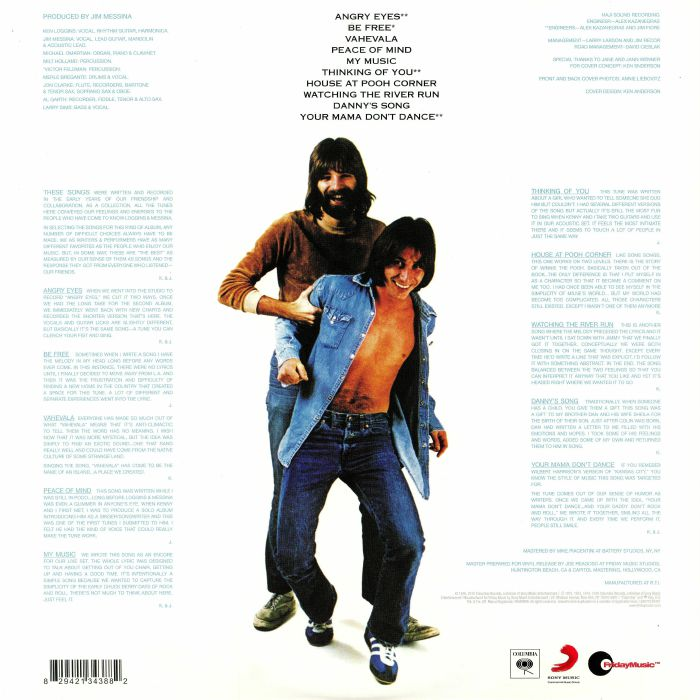 LOGGINS & MESSINA - The Best Of Friends (reissue)