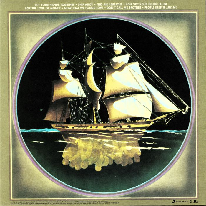 O'JAYS, The - Ship Ahoy (reissue)