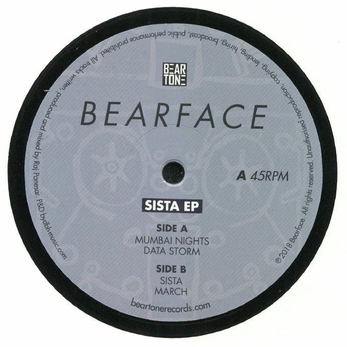 BEARFACE - Sista EP