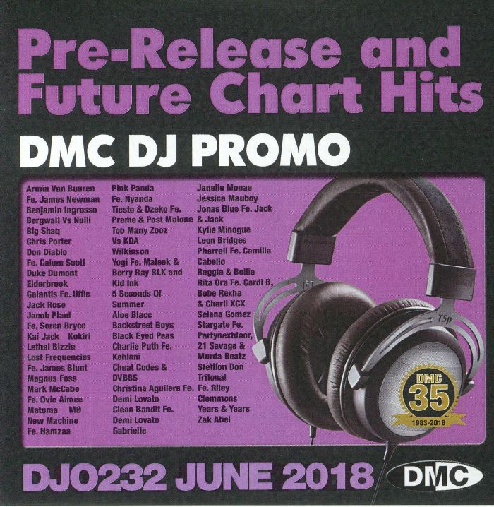 VARIOUS - DMC DJ Promo June 2018: Pre Release & Future Chart Hits (Strictly DJ Only)