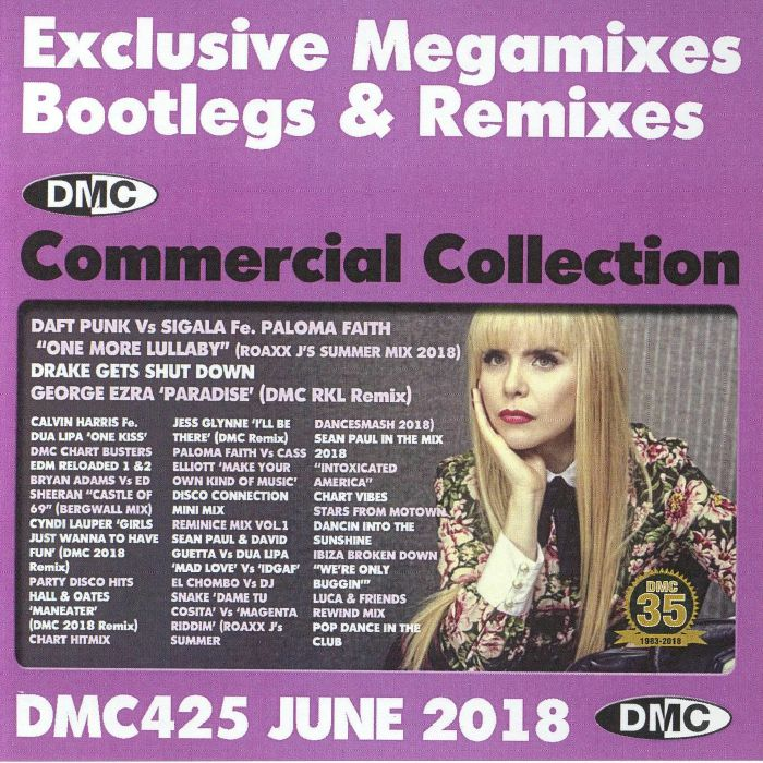 VARIOUS - DMC Commercial Collection June 2018: Exclusive Megamixes Bootlegs & Remixes (Strictly DJ Only)