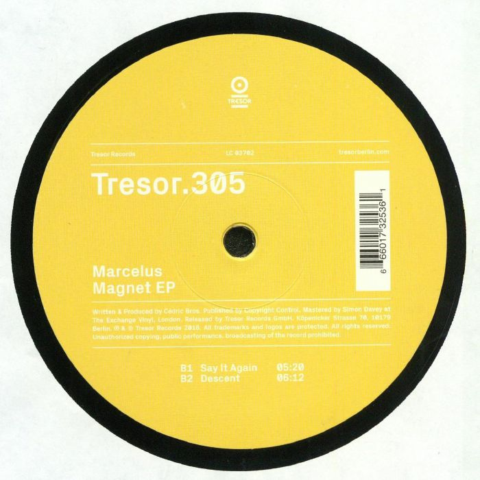 MARCELUS - Magnet EP