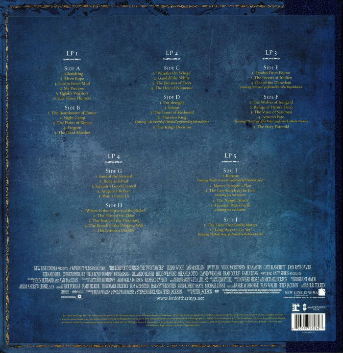 SHORE, Howard - The Lord Of The Rings: The Two Towers The Complete Recordings