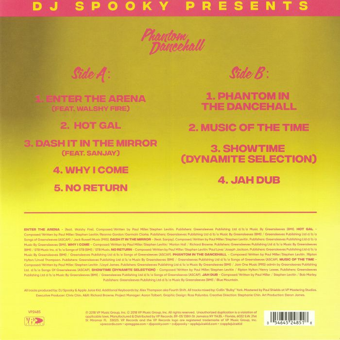 DJ SPOOKY - Phantom Dancehall