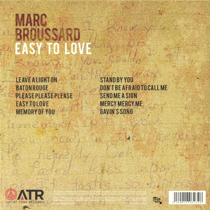 BROUSSARD, Marc - Easy To Love