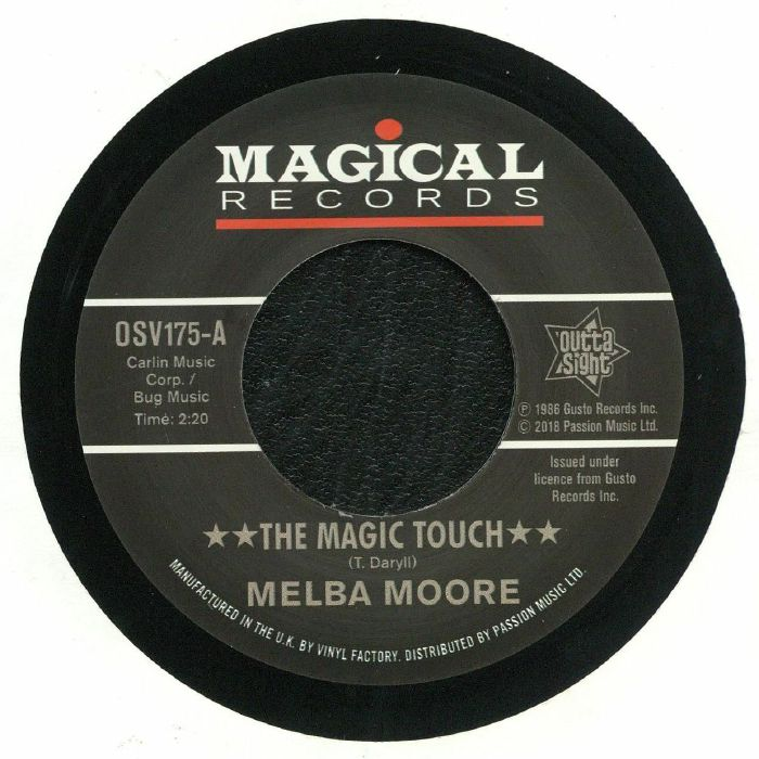 MOORE, Melba/MAXINE BROWN - The Magic Touch