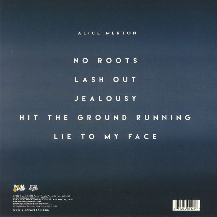 MERTON, Alice - No Roots