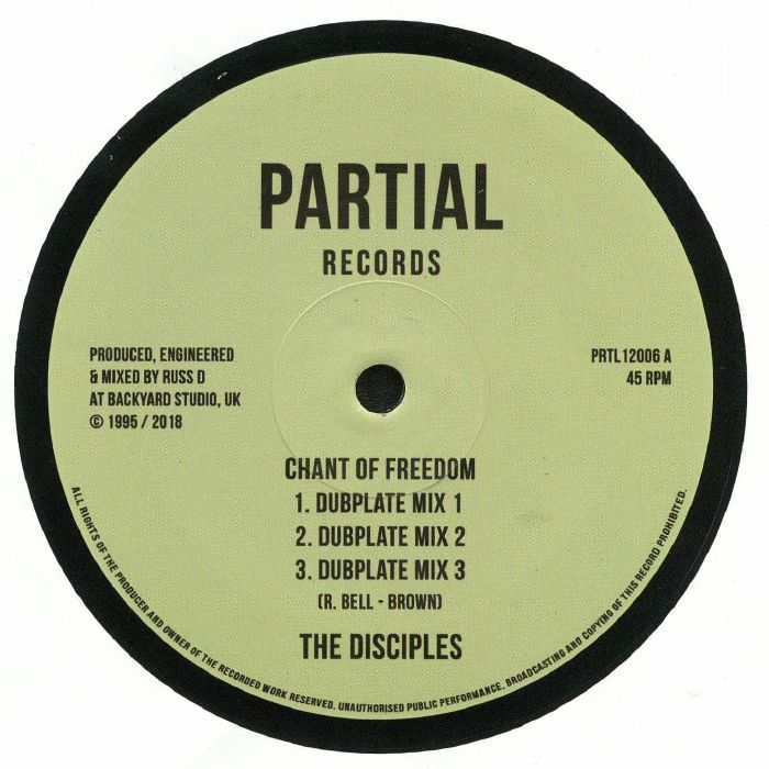 DISCIPLES, The - Chant Of Freedom