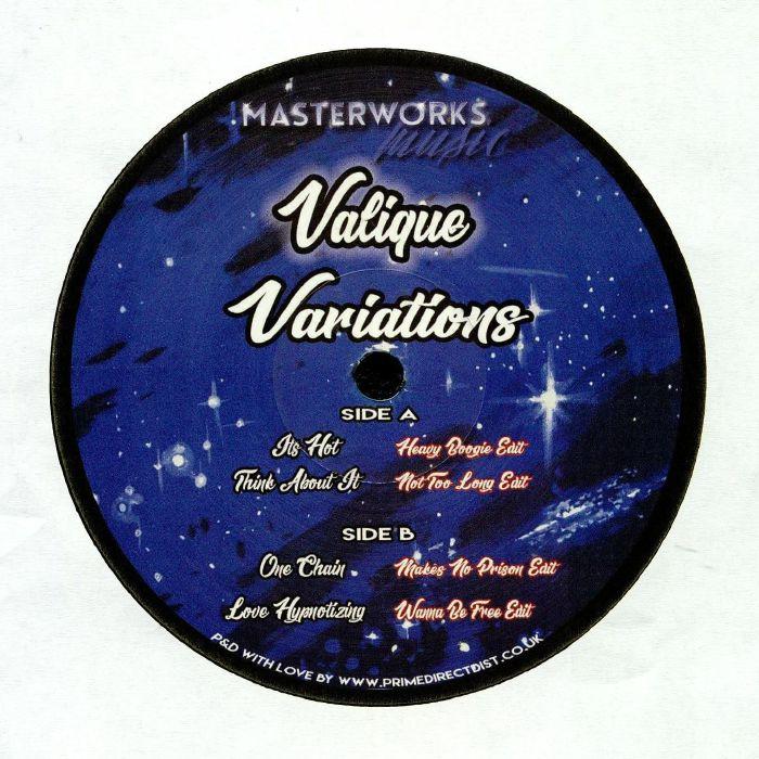 VALIQUE - Variations