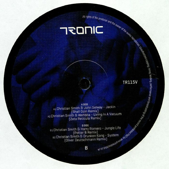 SMITH, Christian/JOHN SELWAY/WEHBBA/HARRY ROMERO/DRUNKEN KONG - Synergy: Remixed