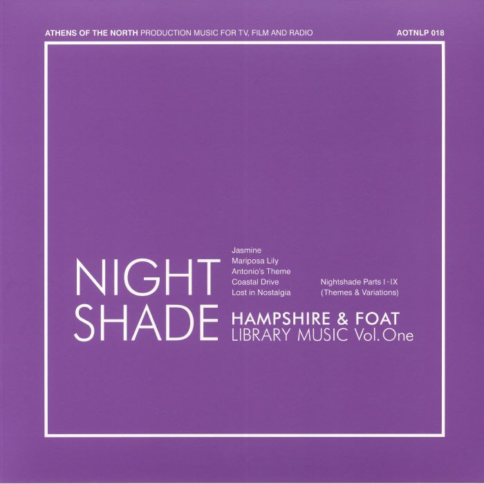 HAMPSHIRE/FOAT - Nightshade: Library Music Vol 1