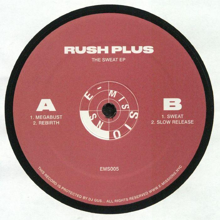 RUSH PLUS - The Sweat EP