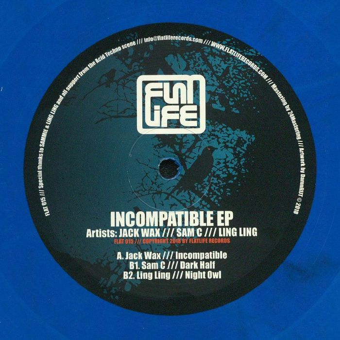 JACK WAX/SAM C/LING LING - Incompatible EP