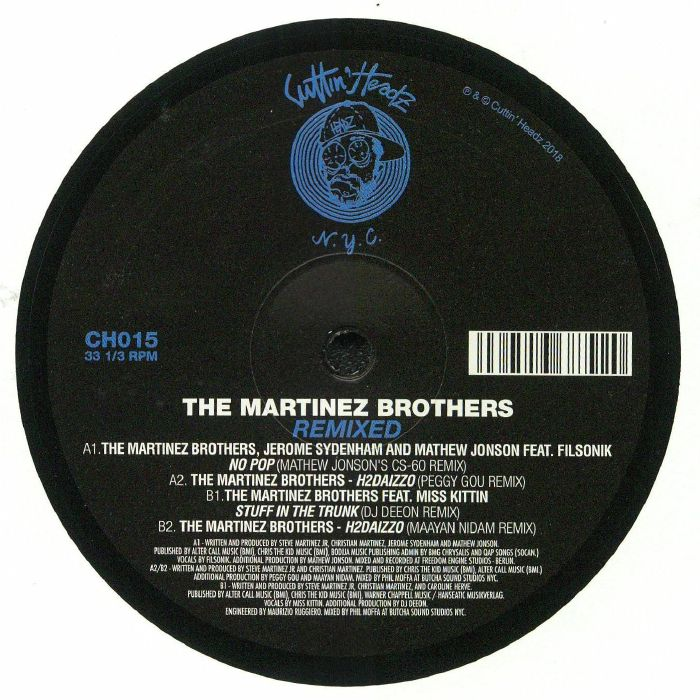MARTINEZ BROTHERS, The - Remixed Part One