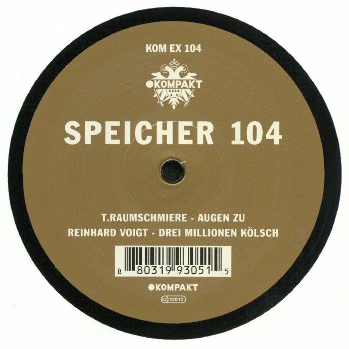 RAUMSCHMIERE, T/REINHARD VOIGT - Speicher 104