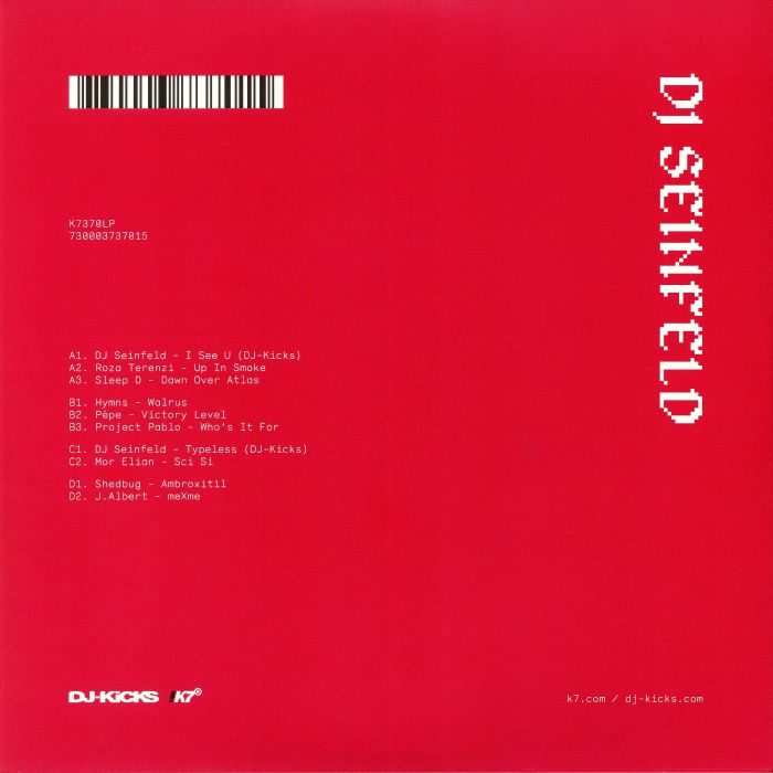 DJ SEINFELD/VARIOUS - DJ Kicks