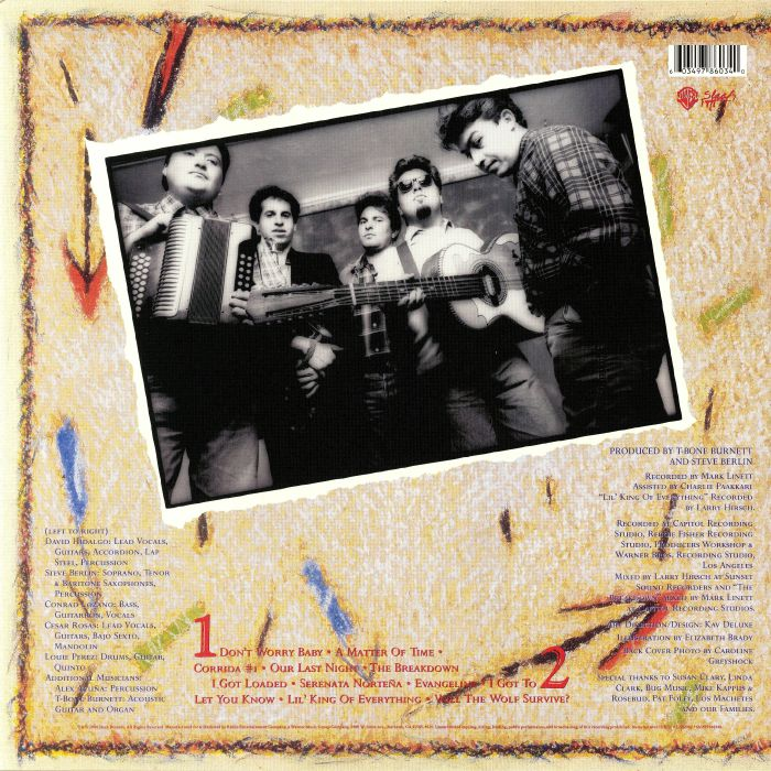 LOS LOBOS - How Will The Wolf Survive? (reissue)