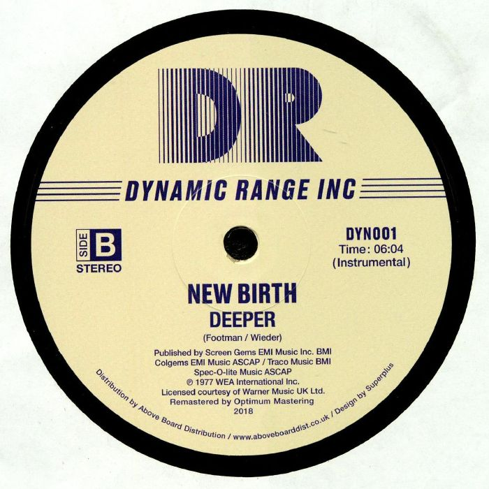 NEW BIRTH - Deeper