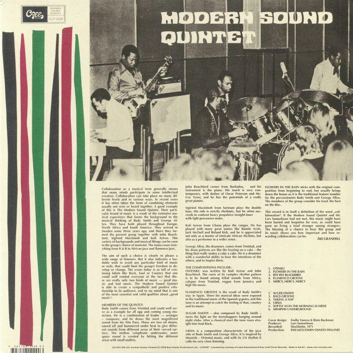 MODERN SOUND QUINTET - Otinku (reissue)