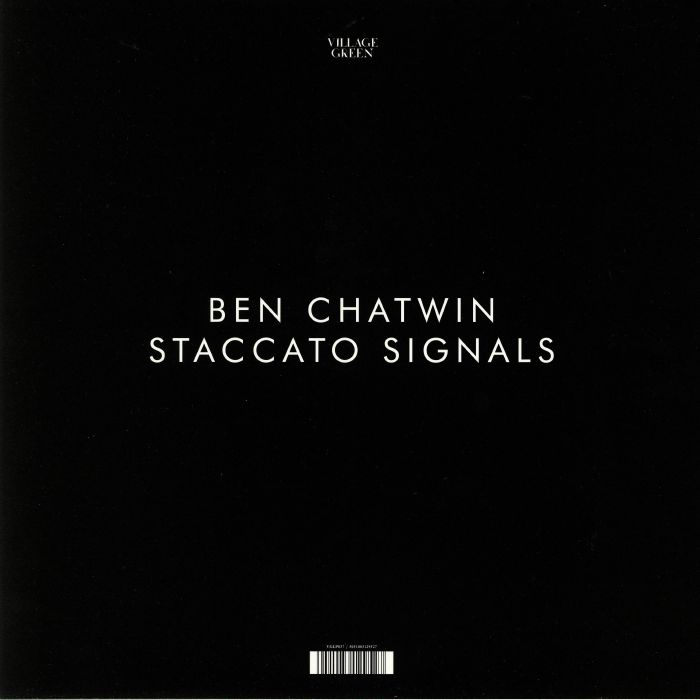 CHATWIN, Ben - Staccato Signals