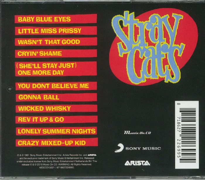 STRAY CATS - Gonna Ball (reissue)