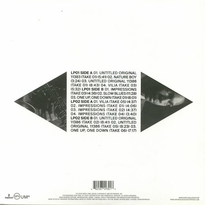 COLTRANE, John - Both Directions At Once: The Lost Album