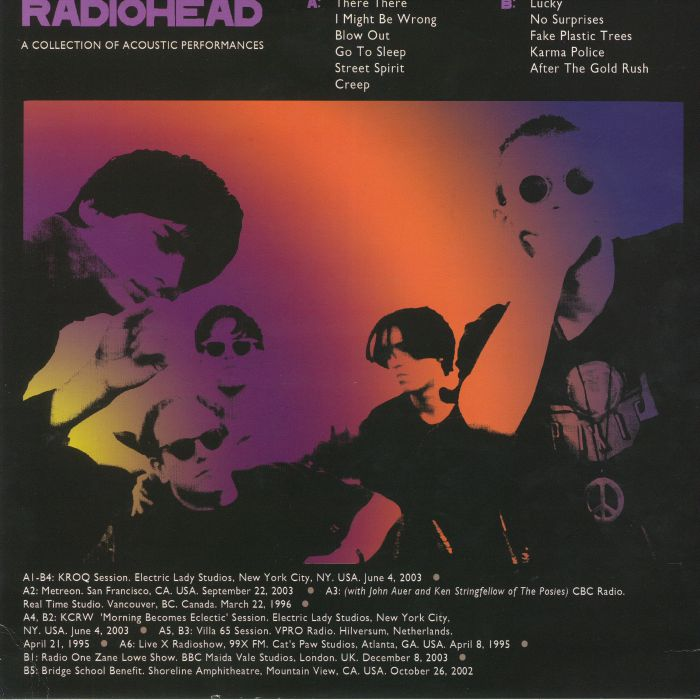 RADIOHEAD - Unplugged: A Collection Of Acoustic Performances