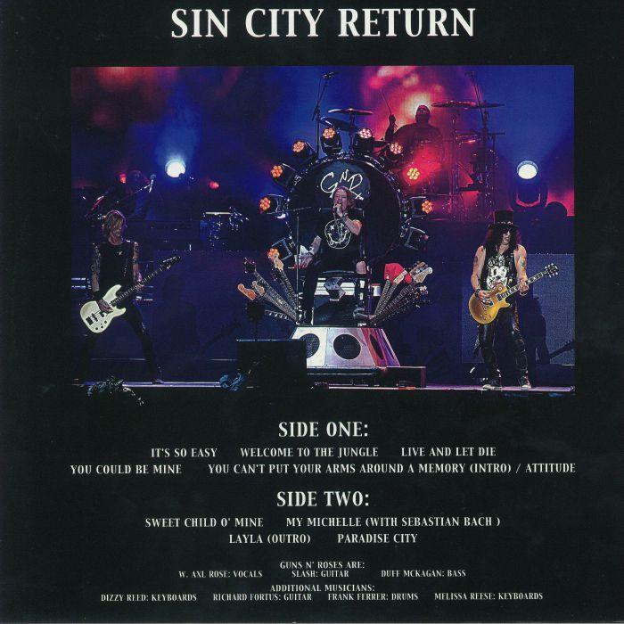 GUNS N' ROSES - Sin City Return: T Mobile Arena LAs Vegas Nevada April 9 2016