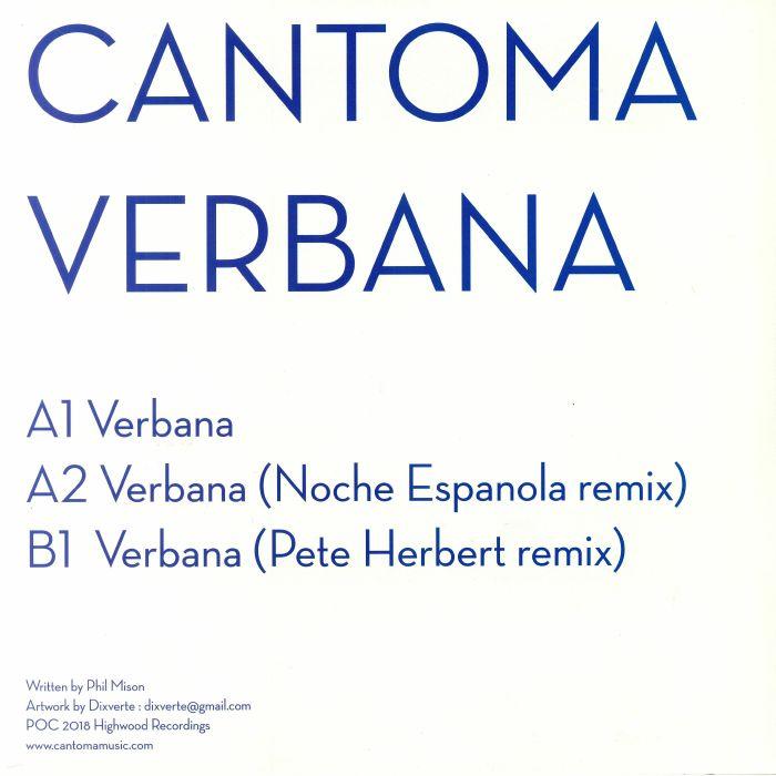 CANTOMA - Verbana