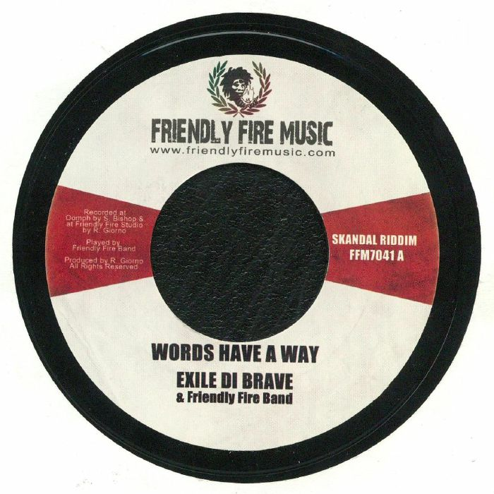 EXILE DI BRAVE/FRIENDLY FIRE BAND - Words Have A Way