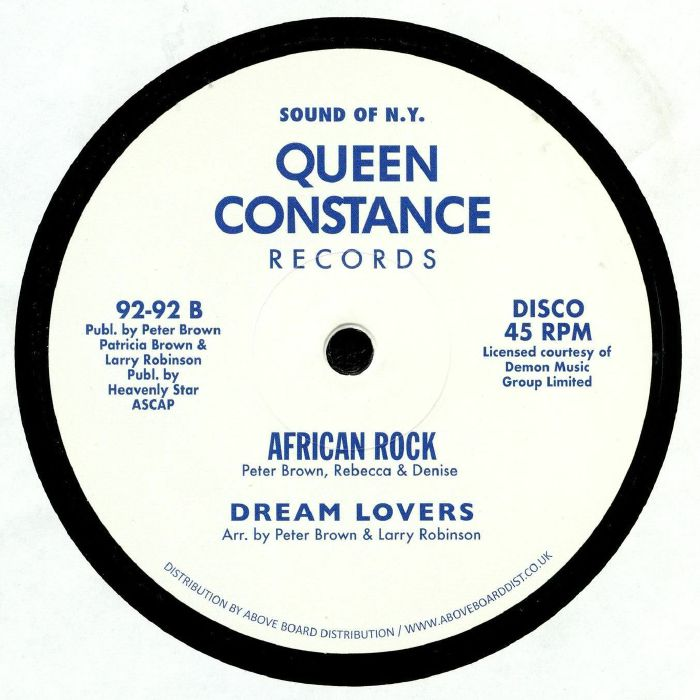 LICKY/DREAM LOVERS - African Rock