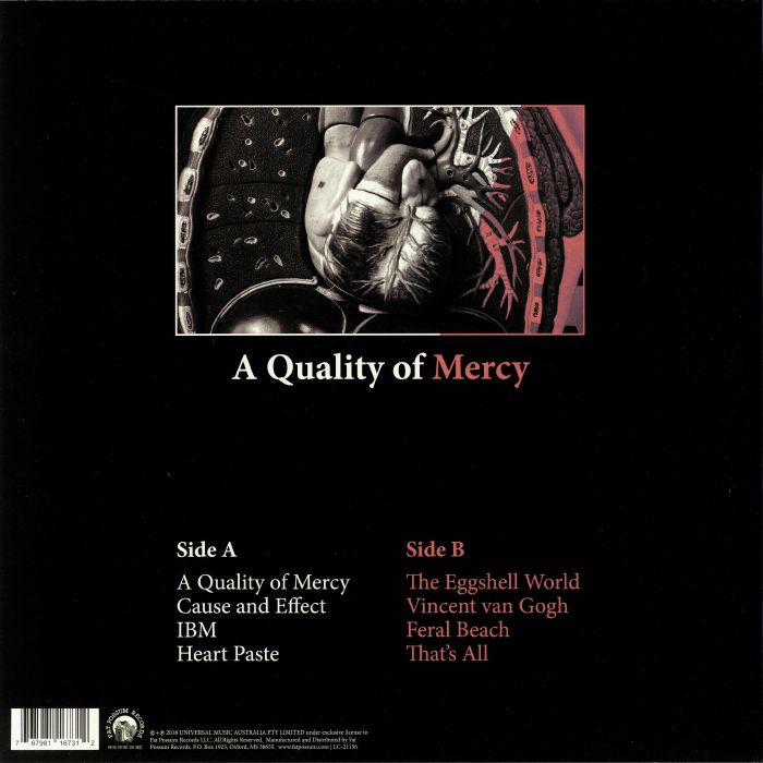 RVG - A Quality Of Mercy