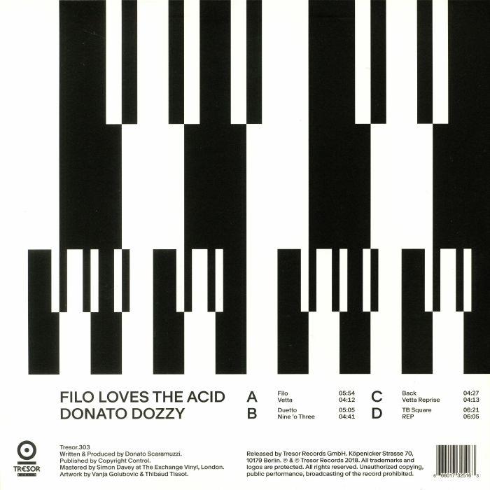 DOZZY, Donato - Filo Loves The Acid