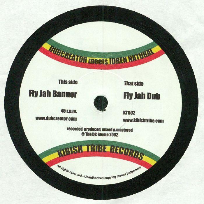 DUBCREATOR meets IDREN NATURAL - Fly Jah Banner