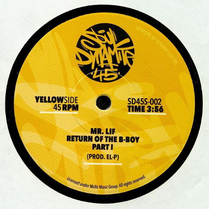 MR LIF - Return Of The B Boy