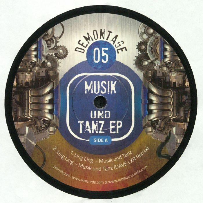LING LING/MECHOZ/TRIBAL ENGINEERS - Muzik Und Tanz EP