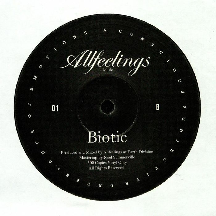 ALLFEELINGS - Biotic