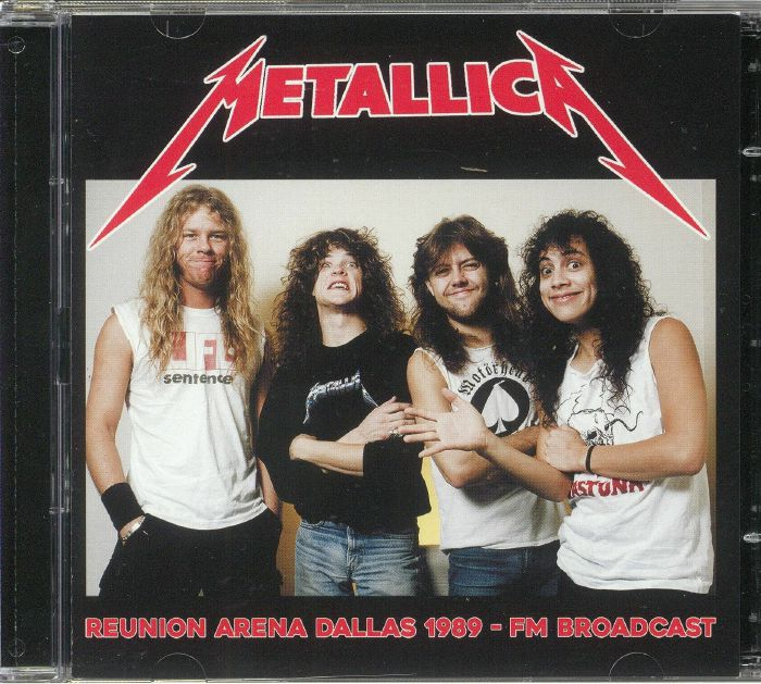 METALLICA - Reunion Arena Dallas 1989: FM Broadcast