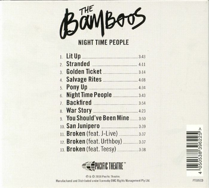 BAMBOOS, The - Night Time People
