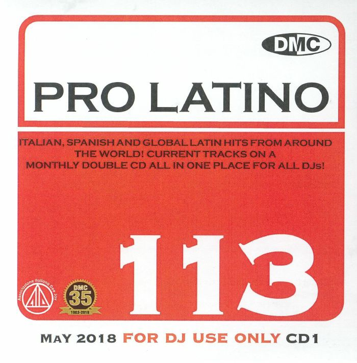 VARIOUS - DMC Pro Latino 113: May 2018 (Strictly DJ Only)