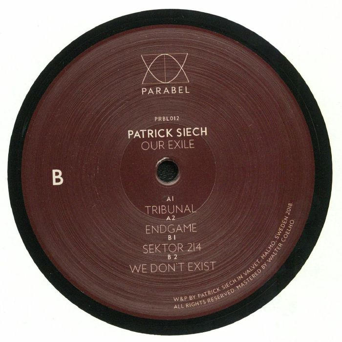SIECH, Patrick - Our Exile